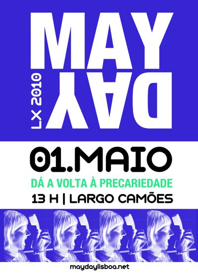 May Day 2010 - cartaz