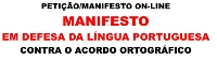 Logo Manifesto Lingua Portuguesa